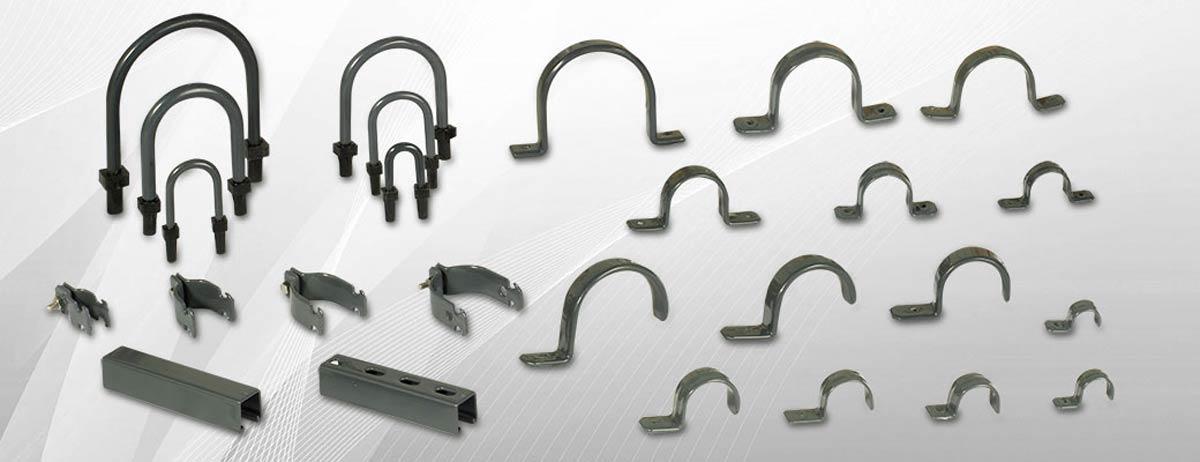 Pin abrazadera omega 1 25mm c10pz on pinterest - Abrazaderas para tubos ...